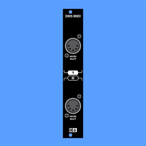 Dual Mini Sequencer MIDI Expander
