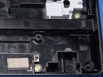 Clipped screw tab