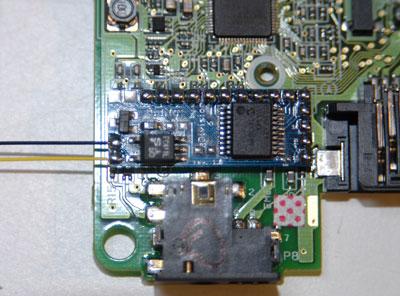 Solder MIDI jack wires to board