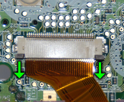 Slide to unlatch ribbon cable