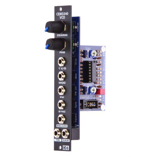 Division 6 CEM3340 VCO Main Board PCB